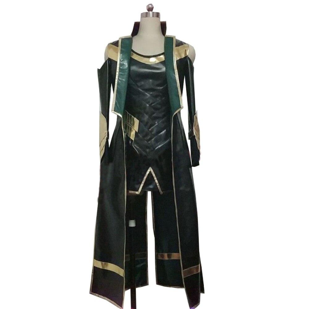2019 Thor 3 Costume The Dark World Loki Cosplay Costume Halloween Carnival Costume Women Style