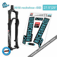 2018 rockshox SID mountain bike front fork decals bicycle front fork stickers