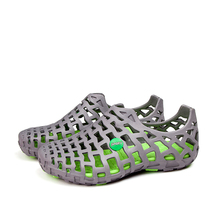 Weweya 2017 Mode Sommer Hohlen Männer Strand Sandalen Schuhe, Männer Schuhe Ultraleichte Aushöhlen Männlichen Casual Sandalen Slipper