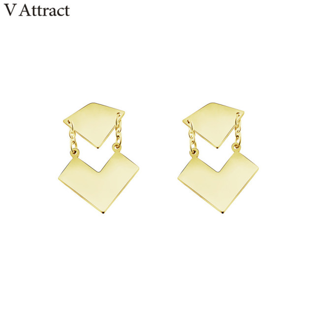 d gold earrings grande letter boardwalkbuy color products stud