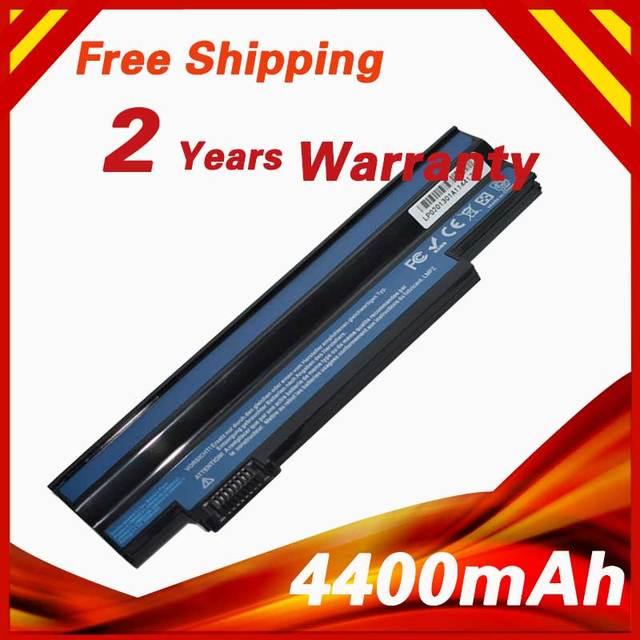 4400mAh Battery For Acer Aspire One 532h  533 AO532h AO533 UM-2009H UM09C31 UM09G31 UM09G41 UM09G51 UM09G71 UM09G75 UM09H31
