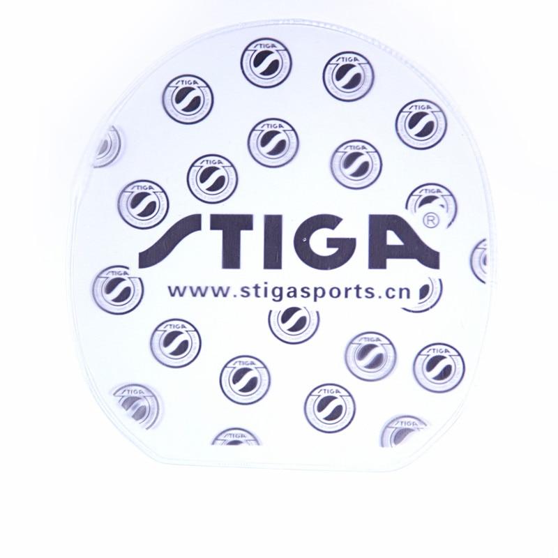 2 Pcs STIGA Table Tennis Protective Film Protector (Un-sticky Film) Tape Accessories Set Ping Pong Tenis De Mesa