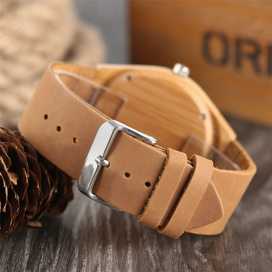 Boho Style Wooden Watch Women Creative Elephant Carving Dial Nature Wood Case Novel Gift Casual Wristwatches relogio masculino (13)