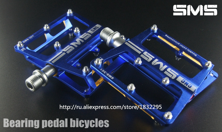 Hot  MTB Cycling Pedals  Bike Pedals Fixed Gear Profession Mountain Bike Downhill Pedals Bearings Accessories Bicycle Pedals west biking cycling pedals fixed gear mtb bmx bicycle pedals 9 16 foot pegs outdoor sports dhcrank mtb road bike cycling pedals
