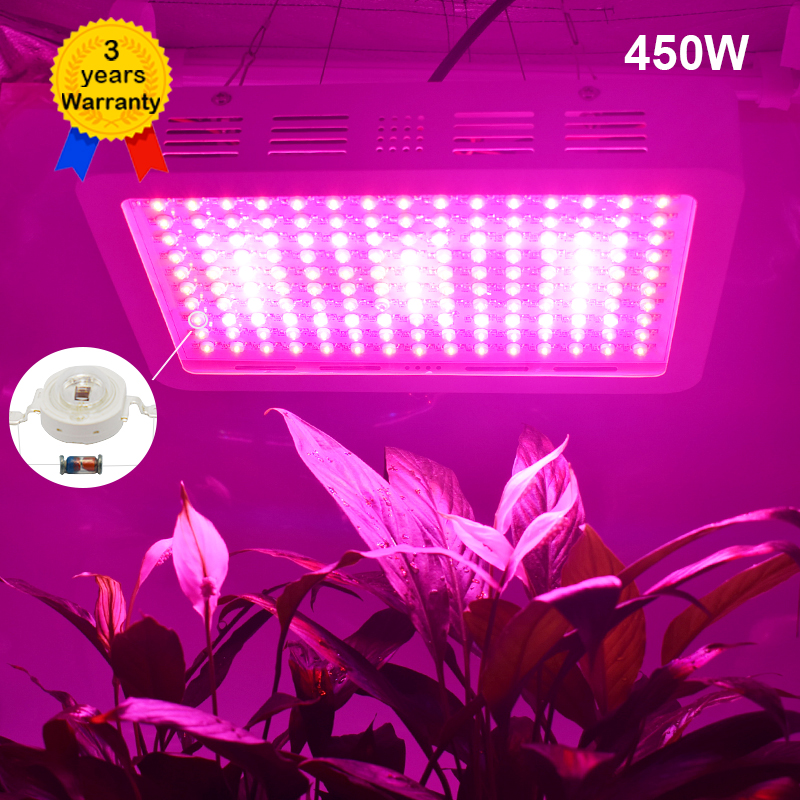 450W LED Grow Light Full Spectrum Plant Growing Lighting LEDs Fitolampy Lamps For Plants Growing Flowers