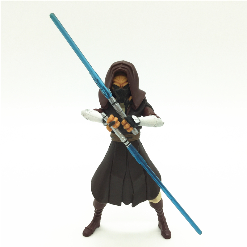 3.75'' Figures anime version Star War Jedi Plo Koon one piece figures model doll  Free shipping S011 5