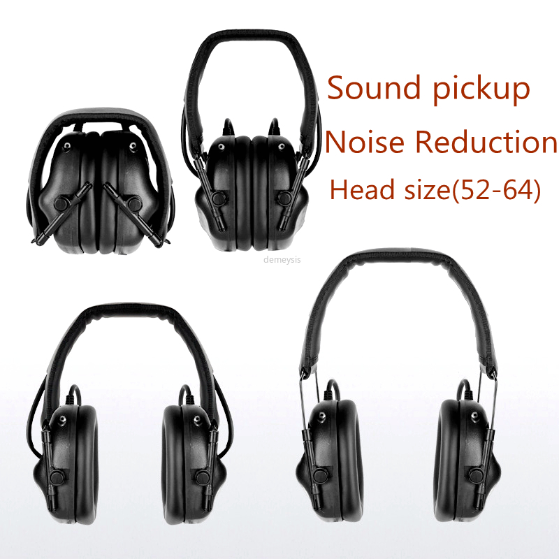 Sports de plein air Anti-bruit casque militaire tactique son Amplification casque chasse tir audition casques de protection