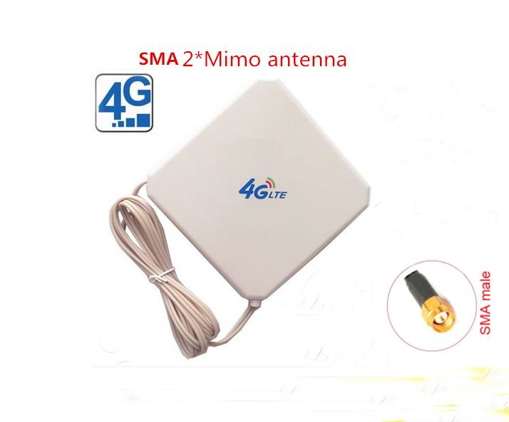 New Arrival 4G LTE SMA 2 Mimo indoor 700 2700mhz 35dbi magnetic antenna for huawei router