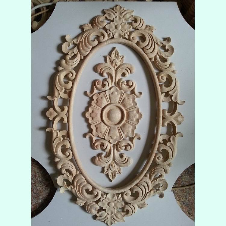Applique Flower Door Flowers Oak Dongyang Wood Carving Solid Customize Sculpture On Aliexpress