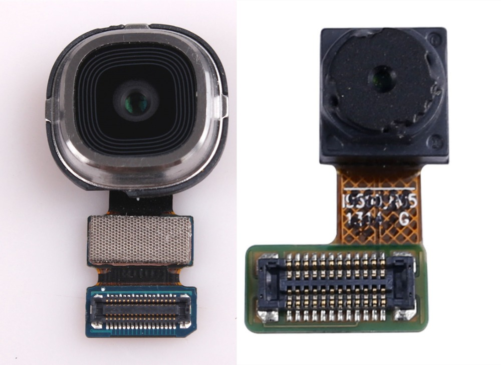 Front Small Camera + Rear Main Camera Module Replacement Part For Samsung Galaxy S4 I9500 I9505