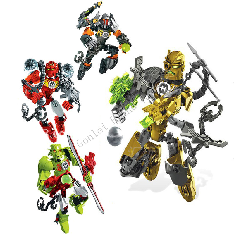 Hero Factory 4.0 Star Soldier ROCKA & BULK & BREEZ & Furno Figure Building Blocks Model Bricks Toy For Children Gifts 20cm ogrum 44007 robot brain attack hero factory 5 0 star soldier action figures model building bricks blocks kids toys gifts