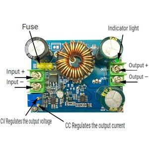 Image 1 - DC DC 600W Boost Step Up Module Power Supply Constant Current Constant Voltage 9 60V to 12 80V 48V 56V 60V 72V