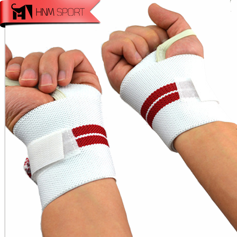 2015 A Pair Safety Gym Weight Lifting Gloves Fitness Wrist with non-slip wrist strap to help pull grip tape  For Traning Sports