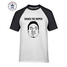 Moda verano estilo Chance el Rapper Hip Hop Rap ácido Camiseta de algodón  para hombres( 79222fe411a
