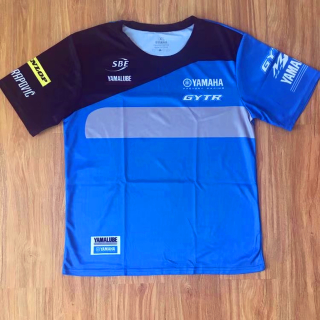 2018 Motogp Vr46 Motorcycle Polo Shirt Valentino Rossi For Yamaha