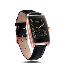 2017 fashion smart watch SW74 with Bluetooth fitness sport tracker sleep heart rate monitor leather strap waterproof for man