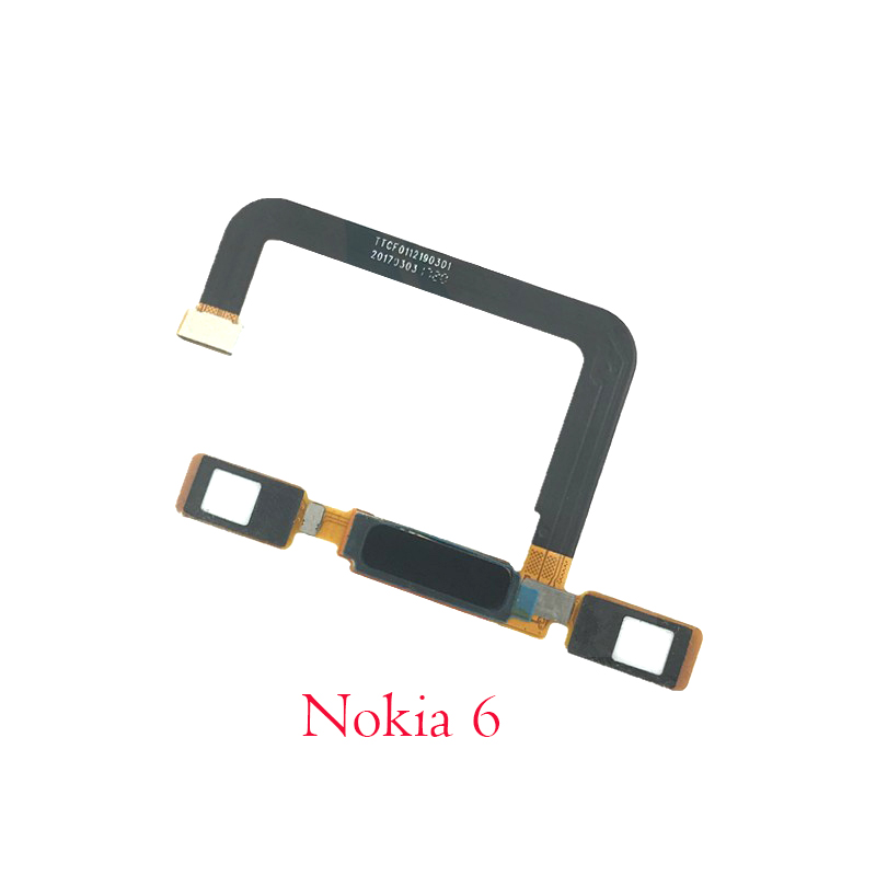 US $12 5 |New Fingerprint Sensor Flex Cable For Nokia 5 6 8 Home Back  Button Key Touch ID Repair Parts-in Mobile Phone Flex Cables from  Cellphones &