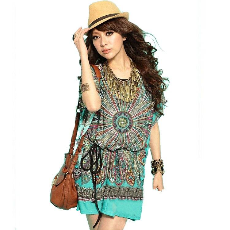 India 3d Printing Fashion Women Summer T Shirt Super Big