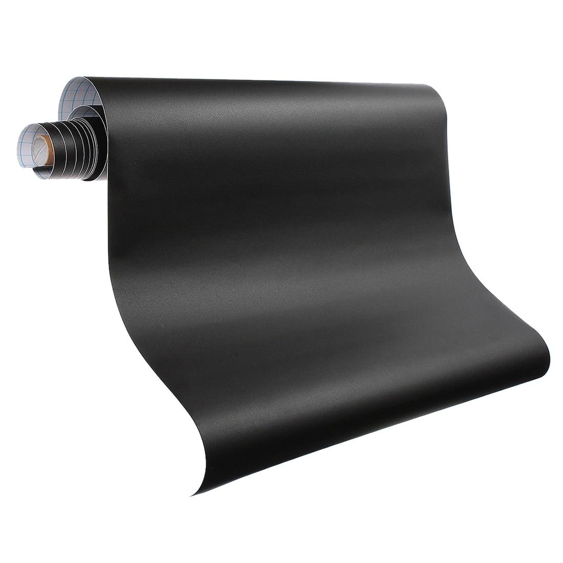 Venta caliente 200x60 cm extraíble vinilo pizarra etiqueta de la pared de pizarra etiqueta Peel Stick la escuela, la Oficina de