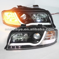 LED Head Light For Audi A4 B6 LED head lamp 2001 2004 year V2 Type