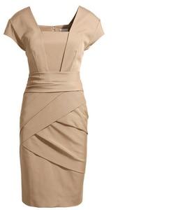 Image 5 - حجم كبير XXXL أنيقة OL الزي ضئيلة فستان كيت فستان إنجلترا النمط الأوروبي الإناث الموضة بلون