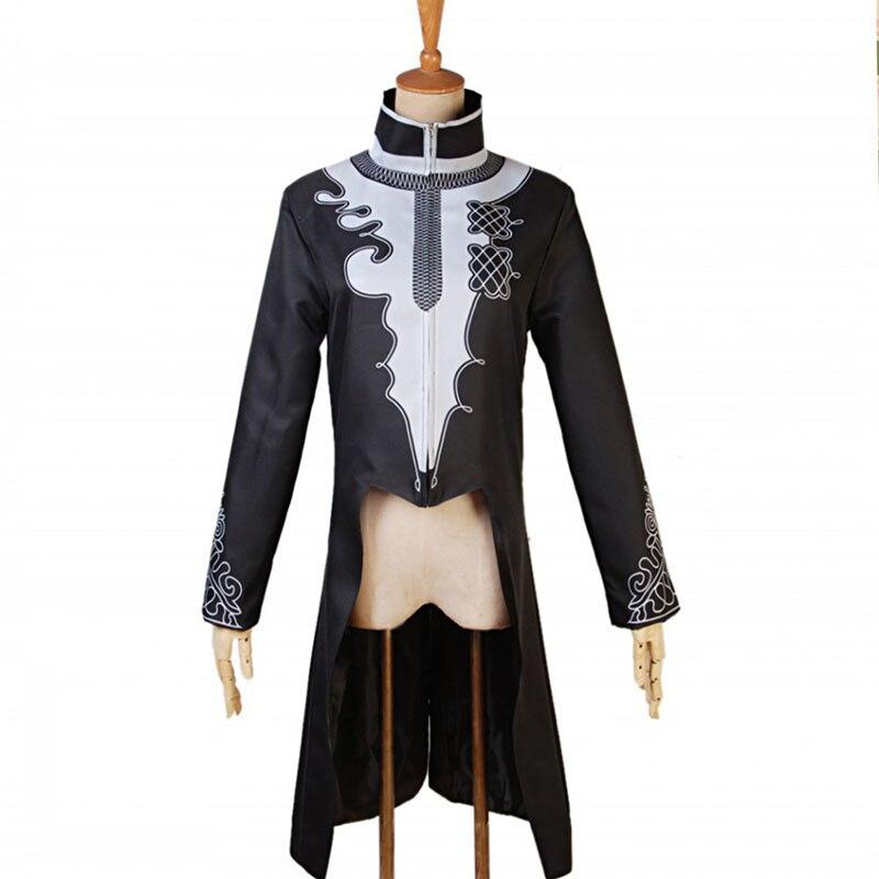 Costume de super-héros pour hommes T'Challa Cosplay Costume de Blazer imprimé Dashiki africain Trench Bomber veste manteau haut pour hommes vêtements noirs