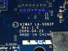 KEFU HOT IN RUSSIA UKRAINE New !!! Free Shipping Laptop motherboard KIWA7 LA-5082P REV : 1.0 for Lenovo  G550 Notebook pc