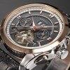Forsining Tourbillon Designer Month Day Date Display Men Watch Luxury Brand Automatic Men Big Face Watches