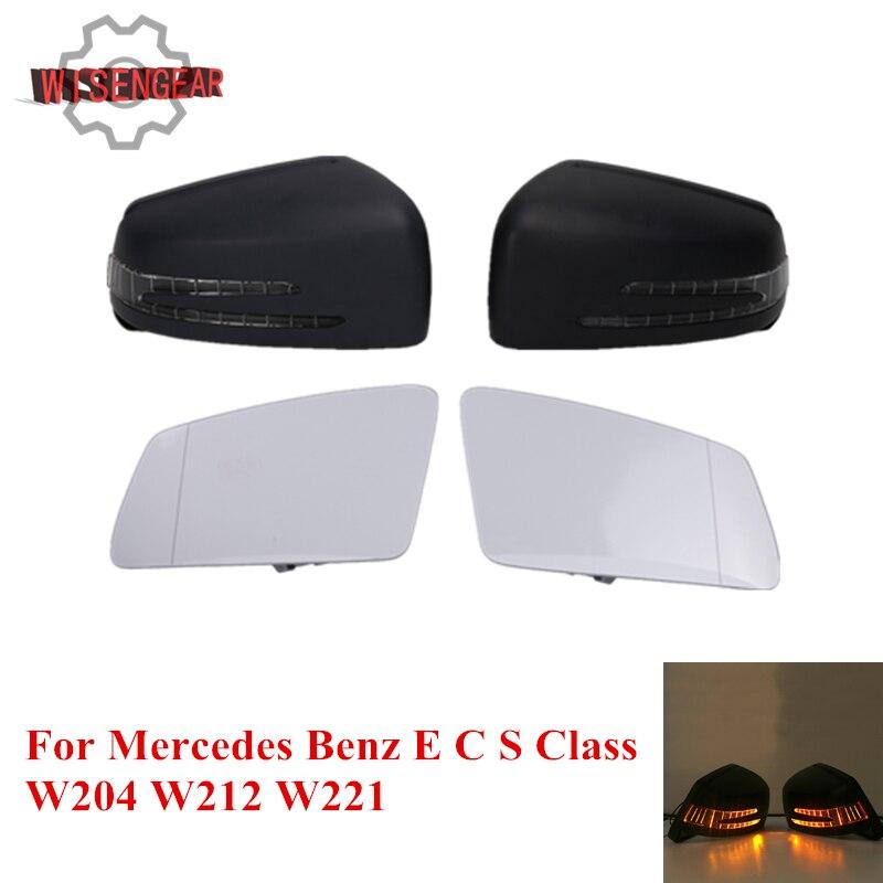 Ensemble de feux de signalisation de rétroviseur de porte extérieure de voiture pour Mercedes Benz E C S classe W204 W212 W221 C200 C300 S350 S500 E300 # WN184