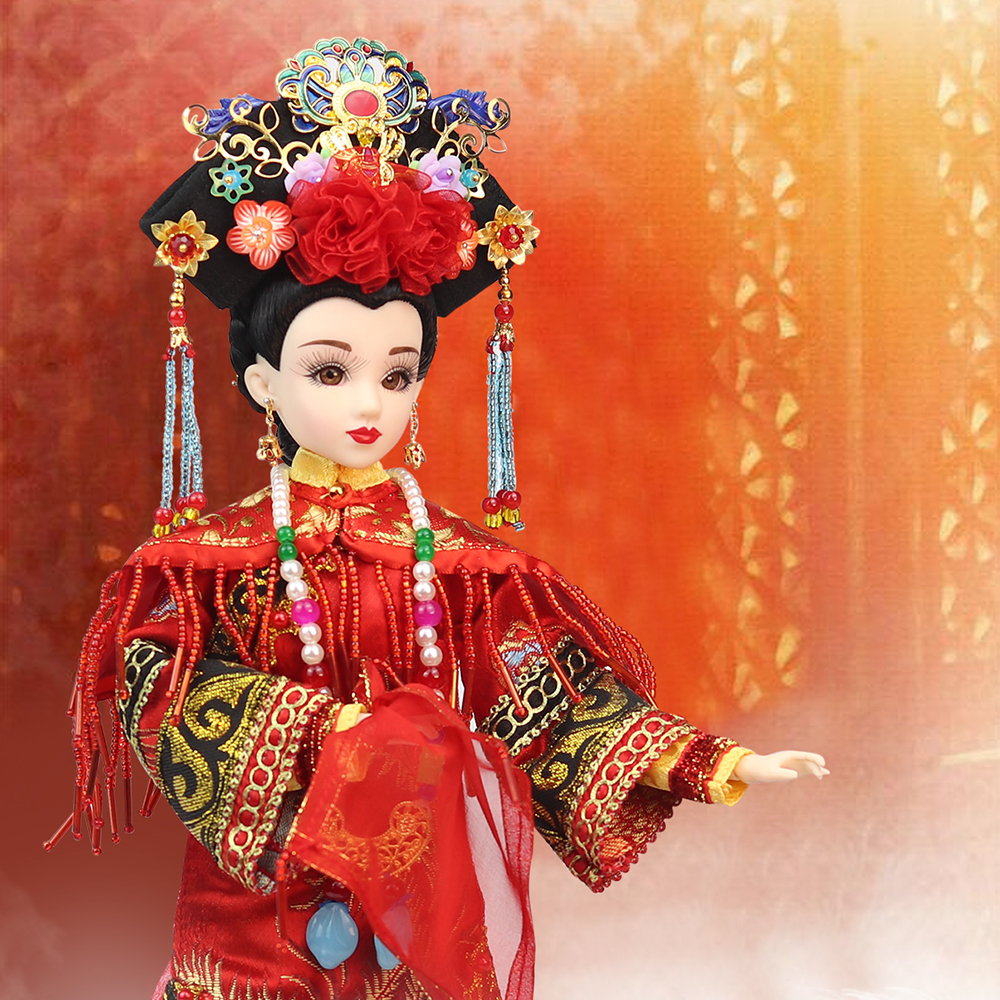 Fortune days doll 1/6 Doll East Charm name by Qing Dynasty Bride including clothes Suitable For DIY Original doll East Barbi fortune days 1 6 doll east charm name by whirlwind queen including clothes suitable for diy original chinese style doll
