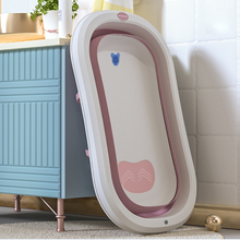 Baby Shower Tubs Multifunctional Folding Bathtub For Children Portable Seatable