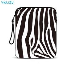 zebra print waterproof smart tablet case 9.7 10.1 inch laptop bag Cover notebook sleeve Universal Ultrabook cover IP-3382