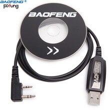 Подлинный Baofeng USB Кабель для программирования с драйверами для BaoFeng UV-5R BF-888S UV-82 GT-3 Walkie Talkie