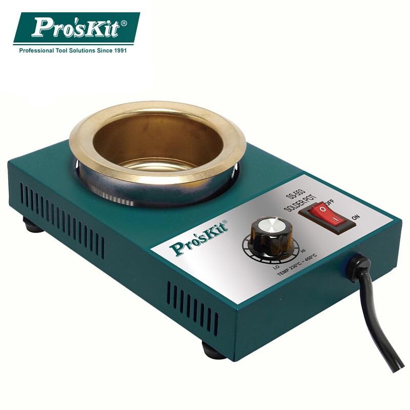"""""""ProsKit"""" litavimo krosnis be švino litavimo puodelių litavimo - Suvirinimo įranga - Nuotrauka 5"""