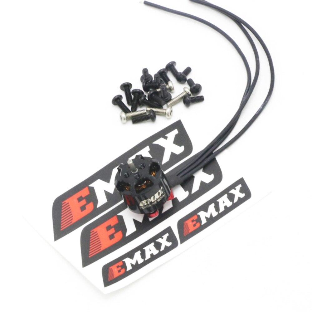 Original EMAX RS1106 II 4500KV 6000KV 7500KV Micro Brushless Motor CW Thread For FPV Racer Helicopters