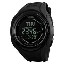 SKMEI Men Digital Outdoor Sport Wristwatches Compass Military Watch Clock Relogio Masculino Watches Top Brand Luxury Hours 1314