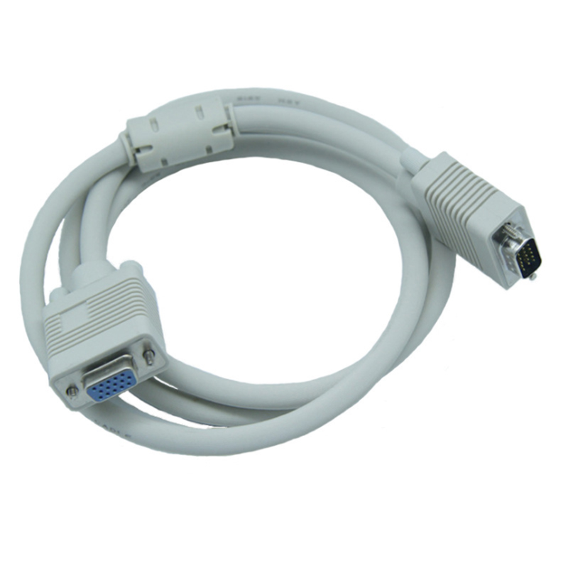 Computer Monitor Vga Extension Cable Vga Cable Hd 15 Pin