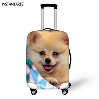 INSTANTARTS Kawaii Papillon Print Luggage Protect Covers Elastic Thickened Dust Rain Cover Apply To 18 30