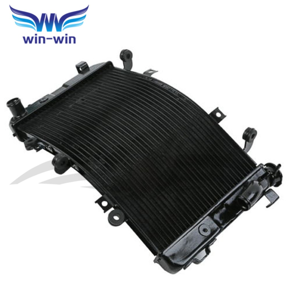 Motorcycle Cooler aluminum replacement Radiator Grille Guard for Suzuki B-King GSX1300BK 2008 2009 2010 2011 2012 2013 arashi motorcycle radiator grille protective cover grill guard protector for 2008 2009 2010 2011 honda cbr1000rr cbr 1000 rr