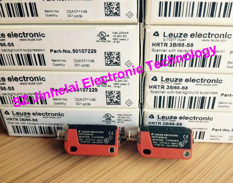 HRTR 3B/66-S8  New and original Germany LEUZE Photoelectric switch, Photoelectric sensor 100% new and original fotek photoelectric switch a3g 4mx mr 1 free power photo sensor