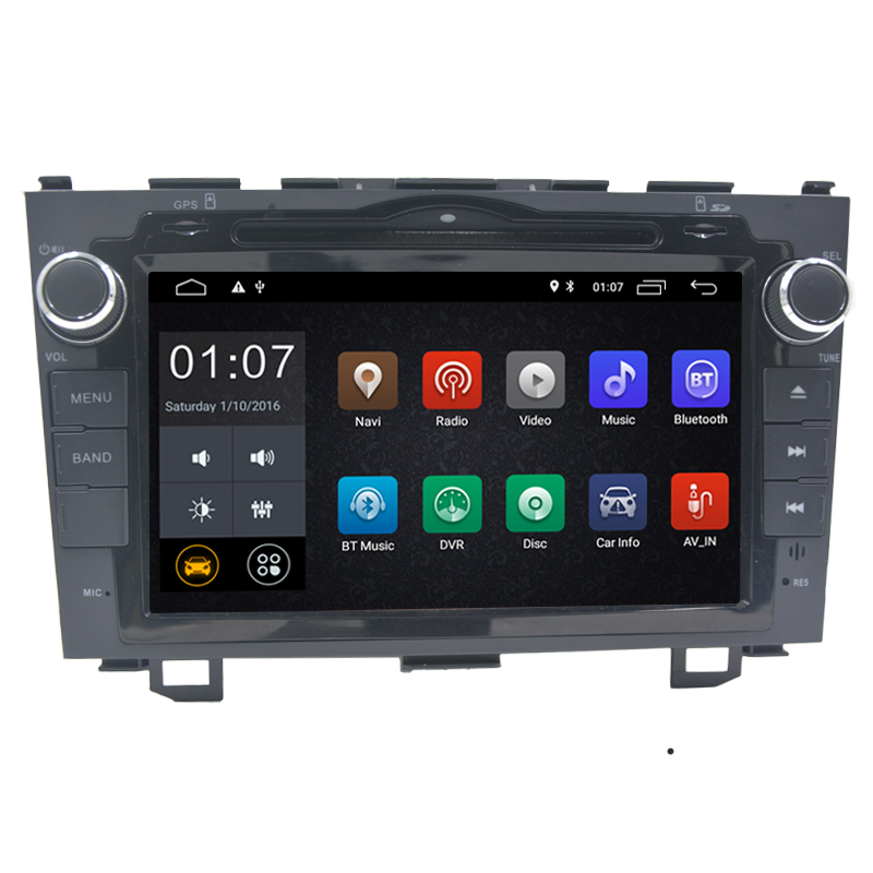 8 zoll Android 8.1 Auto DVD Player Für Honda <font><b>CRV</b></font> CR-V 2006 2007 <font><b>2008</b></font> 2009 2010 2011 auto <font><b>radio</b></font> GPS Navigation bluetooth 2g RAM image
