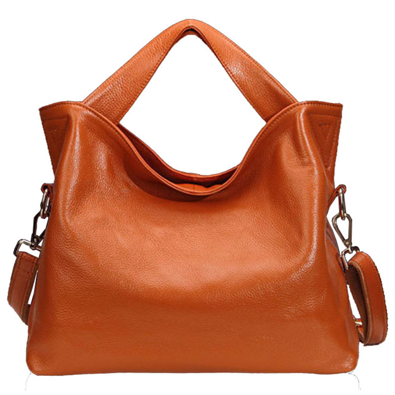 Natural Cow Leather Handbag Women bag Fashion Ladies Messenger bags Brand Genuine Leather Shoulder bag Women Casual Tote 2018 2018 new brand fashion genuine leather women handbag luxury design solid cow leather women shoulder bag casual ladies tote bag