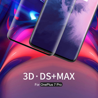 For OnePlus 7 Pro screen protector Nillkin 0.33mm 9H 3D DS+MAX glass cover full screen for OnePlus 7 Pro protective film