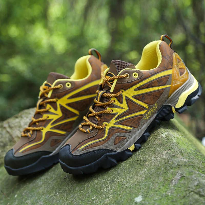 Мужская и женская обувь для пешего туризма Уличная альпинизма спортивной охоты
