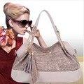 2014 Новые моды для женщин серпантин кисточкой цепи сумки сумки на ремне кожа PU женщин сумка RJ818