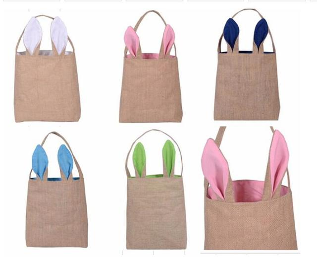 200pcs easter gift bag dual layer bunny ears design basket jute 200pcs easter gift bag dual layer bunny ears design basket jute cloth material tote bag carrying negle Gallery