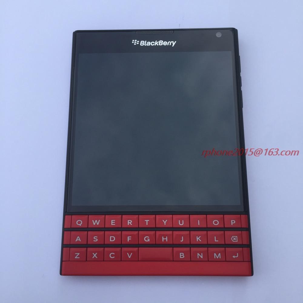 Original BlackBerry Passport Q30 Cellphone BlackBerry OS 10.3 Quad core 3GB  RAM 32GB ROM 13MP Camera