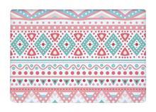 Floor Mat Aztec Tribal ethnic seamless Geometric stripe Print Non-slip Rugs Carpets alfombra For Indoor Outdoor living kids room