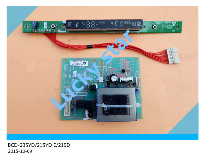 95% new for Haier refrigerator computer board circuit board BCD-235YD/215YD E/219D driver board good working 2pcs/set 95% new for haier refrigerator computer board circuit board bcd 219bsv 229bsv 0064000915 driver board good working
