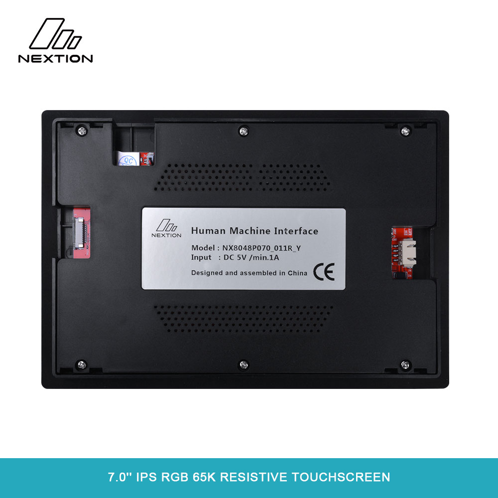 Image 4 - NEXTION 7.0'' Nextion Intelligent Series NX8048P070 011R Y HMI IPS RGB 65K Resistive Touchscreen Display Module With Enclosure-in LED Displays from Electronic Components & Supplies